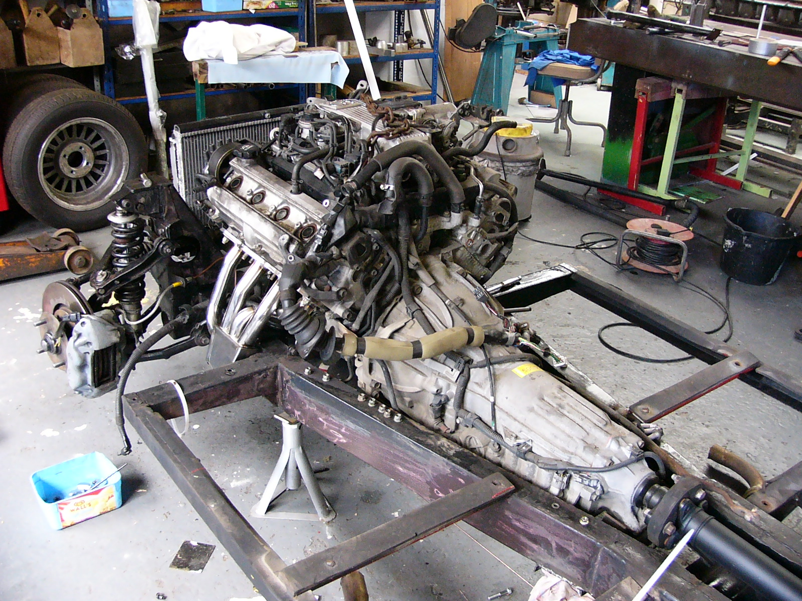 Engine Swaps Page 2 Classic Cars And Yesterdays Heroes
